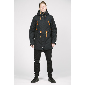 Wear colour Urban Parka, Black