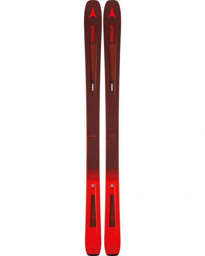ATOMIC VANTAGE 97 TI Dark Red/Red
