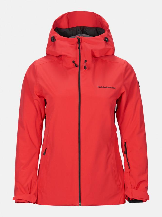 Peak Performance W Anima Jacket Polar Red